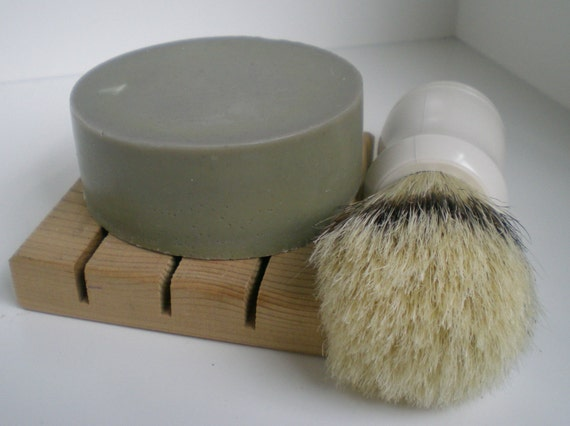 Shaving Soap Cold Processed Soap For Him Bentonite Clay Organic