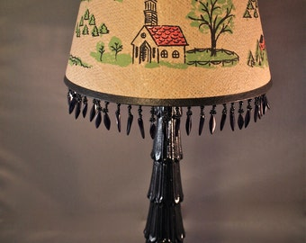 Church and Farm House Chic Accent Table lamp