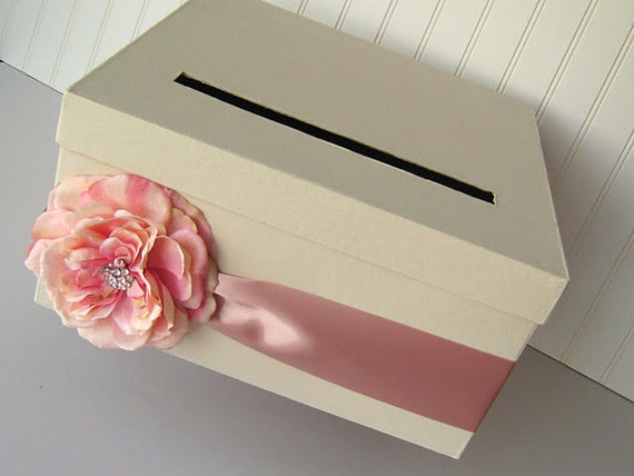 DIY Wedding Card Box - Kit to make your own wedding card holder