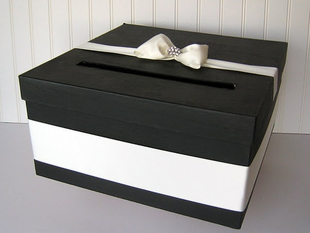 Diy Wedding Gift Box: Wedding Card Box Do It Yourself Supplies For A DIY Card Box