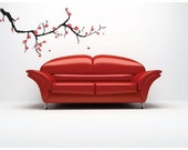 Color Cherry Blosson Wall Decal