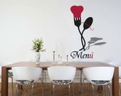 Fork And Spoon Wall Decal Wall Sticker
