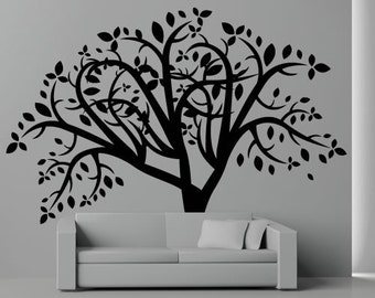Leafy Tree Wall Decal