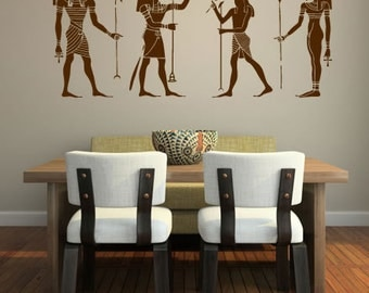 Egyptian Gods Wall Decal