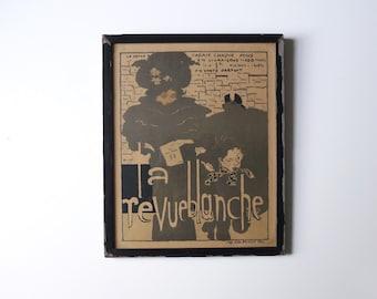"Pierre Bonnard ""La Revue Blanche"" print ca.1896"