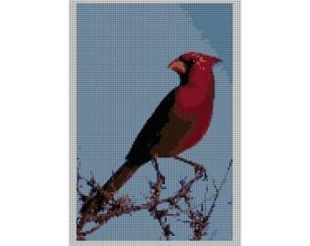 Cardinal Needlepoint Canvas