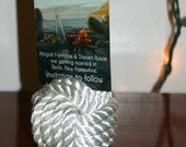 Nautical Wedding Rope Table Card Holders-Display Card Stands-5