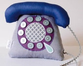 telephone bleu - blue phone