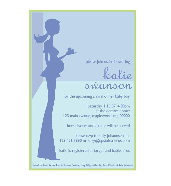 digital baby shower invitation custom by upstairscircus on etsy