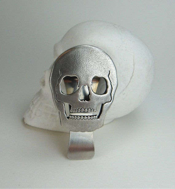 Dad, Mens, Skull ,Money Clip, Under 100