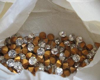 Vintage Swarovski Crystal Rhinestones Article1100 ss11 pp23 2.90-3.0mm QTY - 12