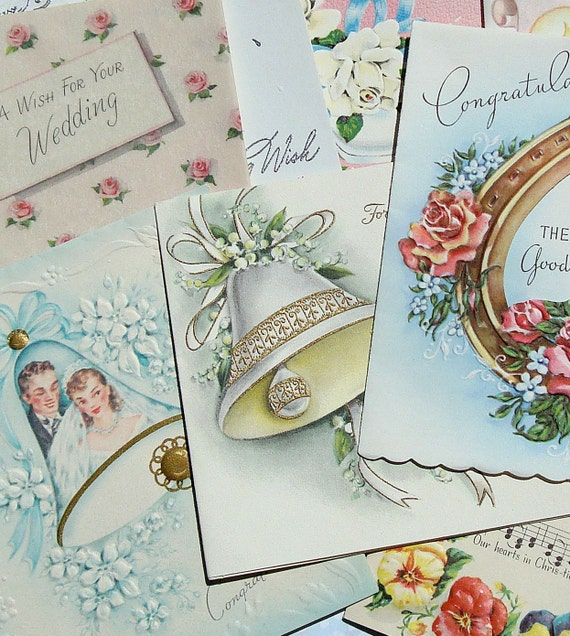 Vintage Cards Vintage Wedding Cards Vintage Paper Ephemera