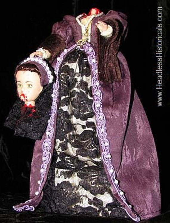 10 Inch Queen Mary Of Scots Doll Beheaded On Sale Now
