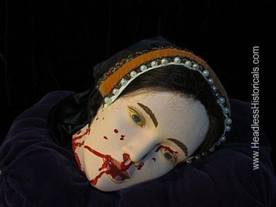 Lifesize Queen Catherine Howard Severed By Headlesshistoricals