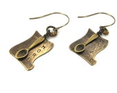 Chef Gift: Literature Earrings Inspired by Dickens