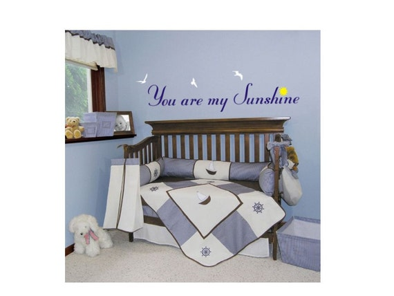 Vinyl Wall Art Decal Sticker You Are My Sunshine