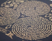 Scrolls & Spells - Wizard inspired art - Ravenclaw
