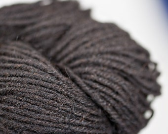 Natural Merino/Alpaca Yarn, black