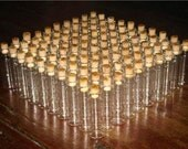 "50 Glass Bottles 5ml 2"" Vials with Corks Miniature"