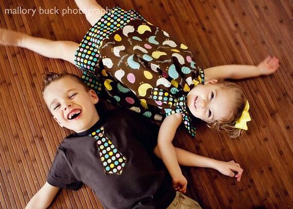 Egg Hunt Brother Sister Set