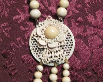 Vintage Bead Necklace