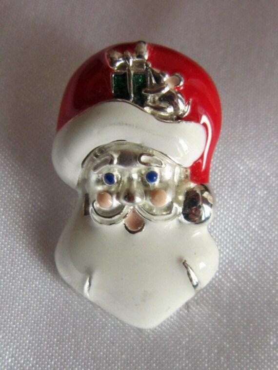 Vintage Santa Claus Tack Pin