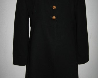Hanae Mori black wool jacket