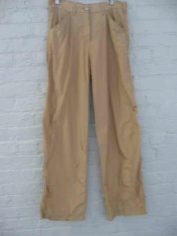 Giorgio Armani tan colored jeans