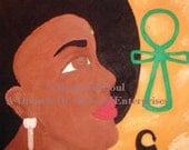 Sankofa- Go Back And Get It - Inspirational Fridge Magnet