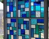 Blues Large Reclaimed Wood Window