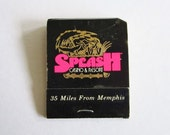 Vintage Book of Matches From Splash Casino & Resort