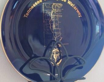 Vintage Tennessee Tombigbee Waterway Dedication Plate