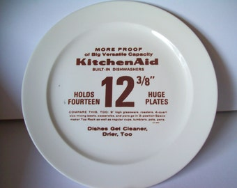 Vintage KitchenAid Promotional Plate