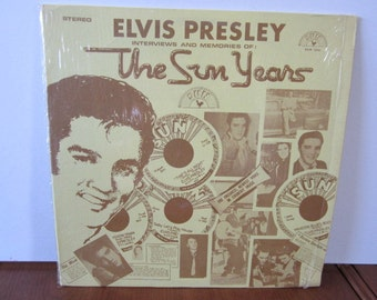 Elvis Presley--Interviews & Memories of The Sun Years, 1977, SUN 1001