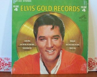 Elvis Presley, Elvis' Gold Records, Vol 4, '75 CANADA (LSP-3921)