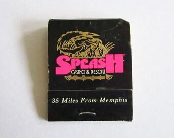 Vintage Book of Matches From Splash Casino & Resort