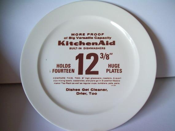 Vintage KitchenAid Promotional Plate