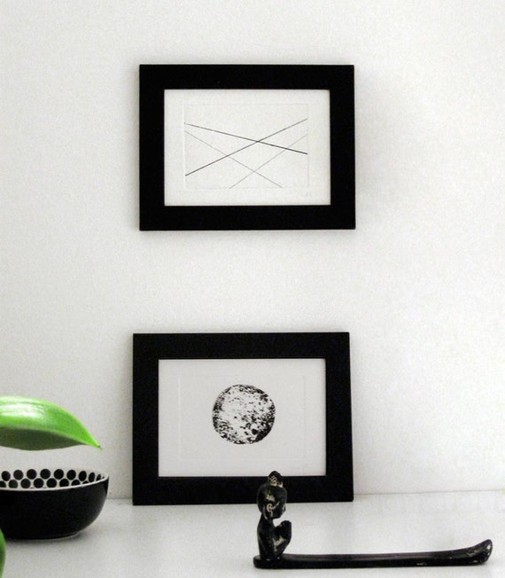 Modern etchings