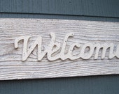 Welcome Sign, American Country Chic