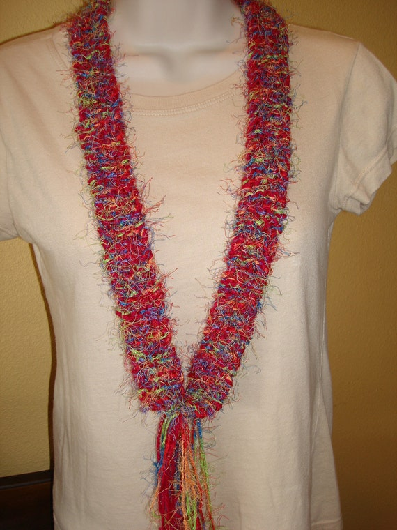 SALE - Buy 1 Get 1 - Plus Free Shipping - Not Really a Scarf - Not Really a Necklace - Great Accessory to Dress Up Any Outfit