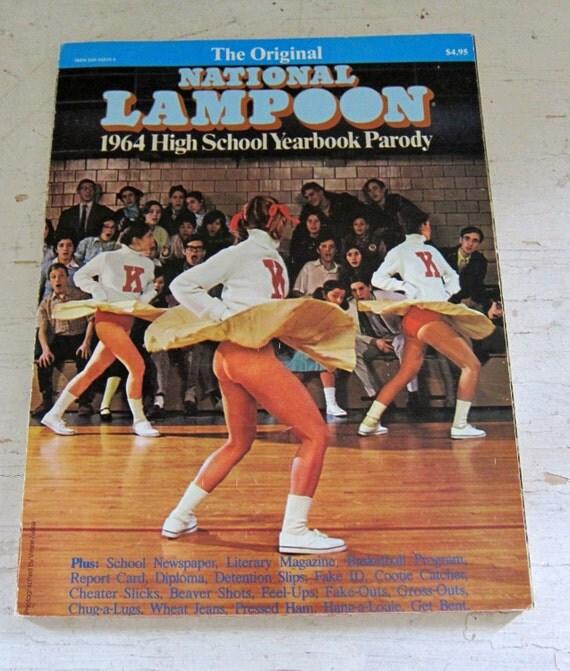Vintage Book National Lampoon 1964 Highschool Yearbook Parody
