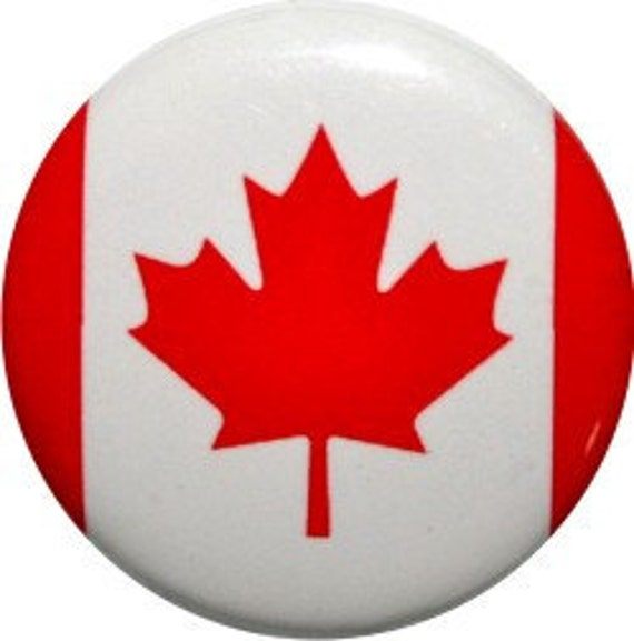 items similar to canadian flag 1 u0026quot  round button