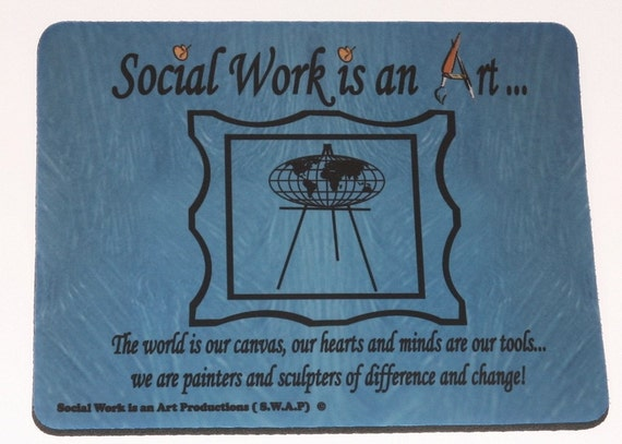 Social Work Mouse Pad