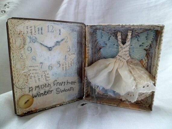 Art Assemblage - The Moth (Walter De La Mare)
