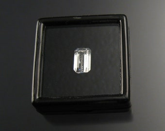 Kunzite faceted rectangle
