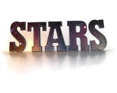 Solar System Decor Stars Letters