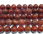 8mm Round Agate Beads Fire Mexican Import 15''L Natural Genuine Semiprecious Gemstone Bead Wholesale Beads
