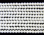 Coral Natural Genuine Loose Beads 2mm Round White  15 inches length, 38 cm - Wholesale Coral