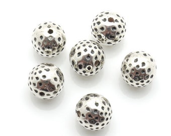 Spacer Bead CCB 11mm 50pieces Lot Silver Plated Finding 1200 - Wholesale Spacer Bulk Accessory