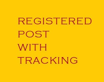 Registered Post Charge Shipping EU